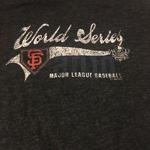 Tops - 2010 World Series SF giants tee